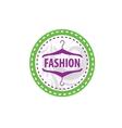 logo fashion vector image
