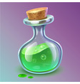 poison bottle vector image