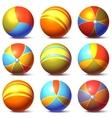 set of children balls vector image
