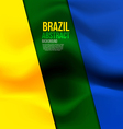 brazil colors vector image vector image