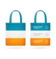 Color Sale Bag Menu Set vector image