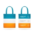 Color Sale Bag Menu Set vector image