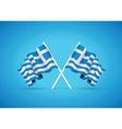 greece flag vector image vector image