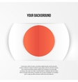abstract circles template Object web vector image