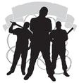 criminal clan emblem vector image