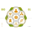 Flat Icons - Biology vector image
