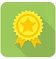 Award icon vector image vector image