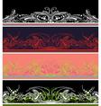border design elements vector image vector image