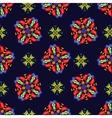 Royal Gift Present seamless pattern vector image