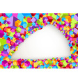 Cubic background - abstract layers vector image vector image
