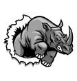 rhino ripping vector image