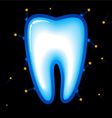 tooth protection vector image