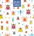 Bugs pattern vector image
