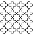 geometric seamless pattern moroccan tiles desig vector image