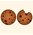 Sweet cookies in hand drawn style vector image