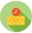 Time Based Currency vector image