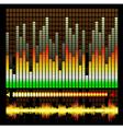 equalizer pattern vector image