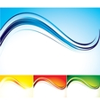 Four color abstract backgrounds vector image