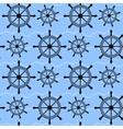 Ship Wheel Pattern vector image