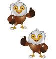 Bald Eagle Character 3 vector image