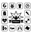 Fitness 2 vector image