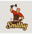 blacksmith smithy vector image
