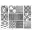 Islamic Patterns Set vector image
