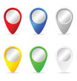 pointer set in various color vector image