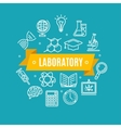 Education Chemistry Science Concept vector image