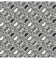 ornate print template vector image