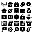 Business Icons 9 vector image