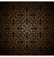 Dark gold pattern vector image