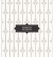 Seamless modern Art Deco pattern background linear vector image