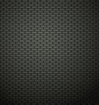 Dark brick wall background vector image