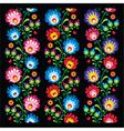 Seamless long Polish folk art pattern vector image vector image