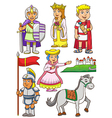 Greek Roman cartoon vector image