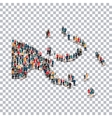 people map country Papua New Guinea vector image