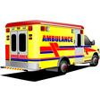 al 0931 ambulance vector image vector image