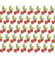Strawberry Vintage pattern vector image