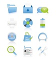 Web icons 15 vector image