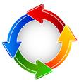 reload symbol vector image vector image