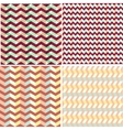 triangles backgrounds vector image
