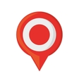 pin map pointer gps location vector image