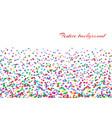 confetti isolated decoration vector image
