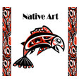 native salmon vector image