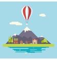 Advertisement Commercial Promotion House Village vector image