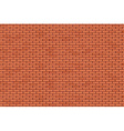 Brick wall - background vector image