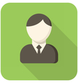 Businessman icon vector image