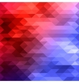 red blue mosaic background vector image
