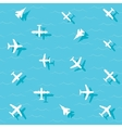 planes fly vector image vector image